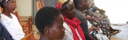 Women in Kenya attend training