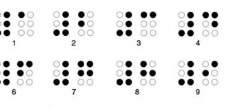 braille numbers graphic