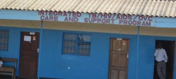 African health clinic